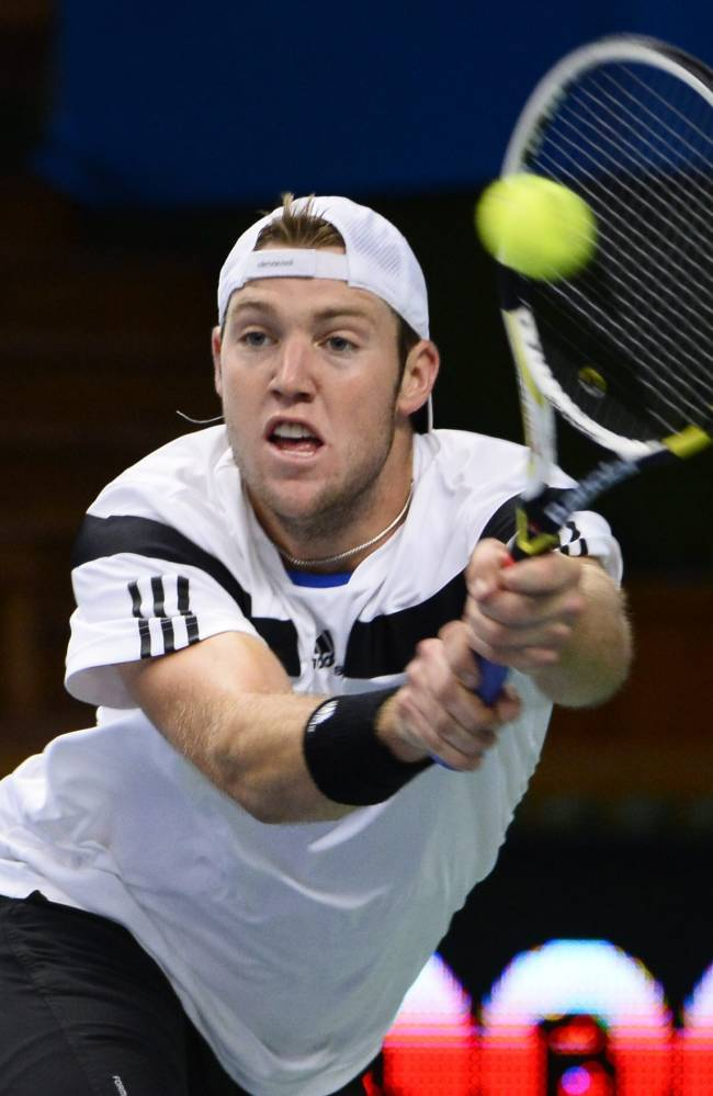 Sock of US, Gulbis advance at Stockholm Open