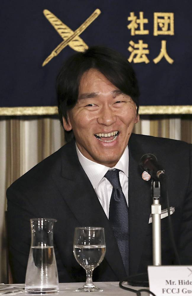 Matsui to team up with Jeter for baseball charity in Japan