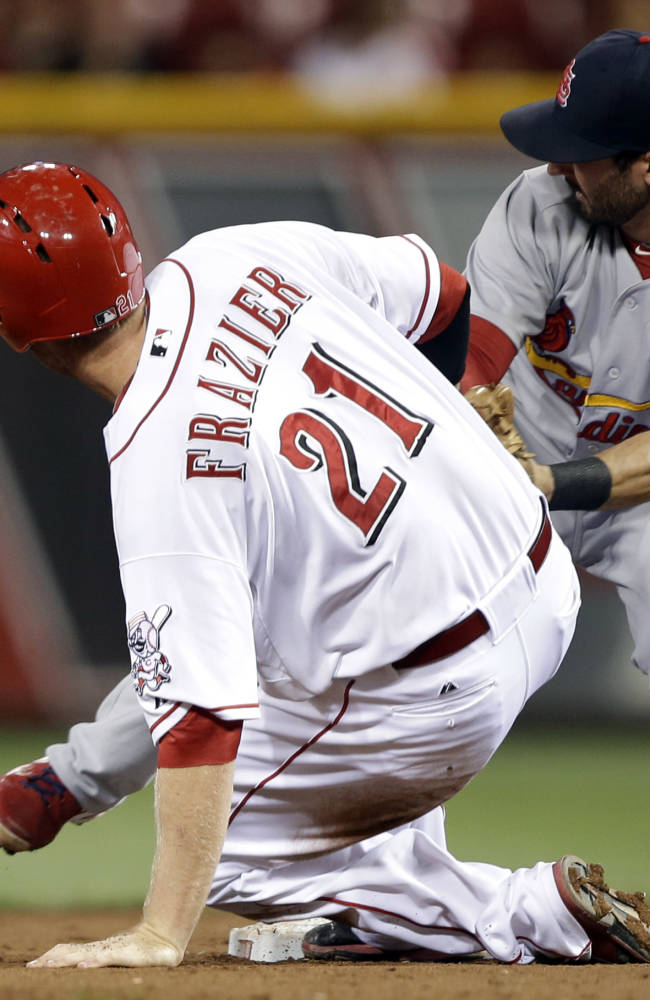 Adams' HRs send Cardinals over Reds 5-4 in 16
