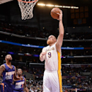 Kaman helps Lakers surprise Suns 115-99 The Associated Press