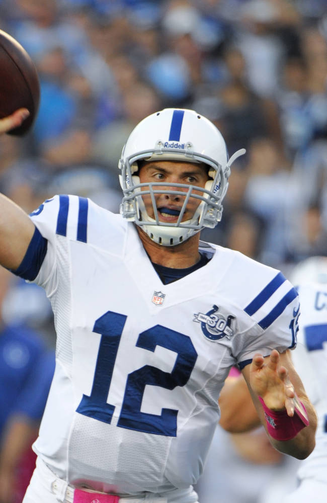 Luck, Manning ready to renew ties in Indianapolis