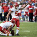 After early trouble, Chiefs' Santo becoming clutch The Associated Press