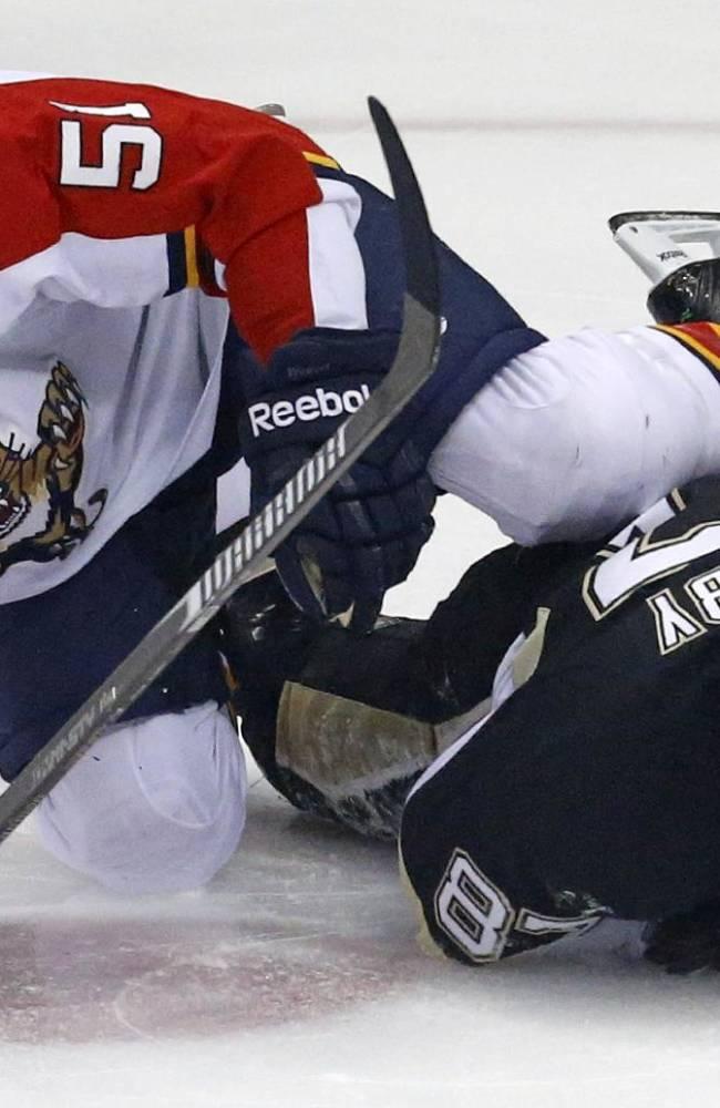 Panthers snap Penguins' home winning streak 5-1