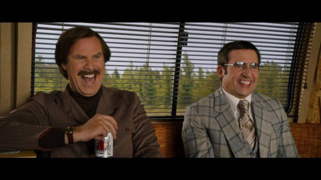 With 'Anchorman 2' Cast, 'It's a Free for All'