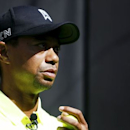 Golfer Tiger Woods of the U.S. attends a fan event in Tokyo, Japan April 26, 2015. REUTERS/Yuya Shino
