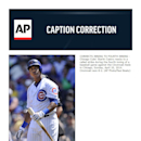 CORRECTS INNING TO FOURTH INNING - Chicago Cubs' Starlin Castro reacts to a called strike during the fourth inning of a baseball game against the Cincinnati Reds in Chicago, Sunday, April 20, 2014. Cincinnati won 8-2 The Associated Press
