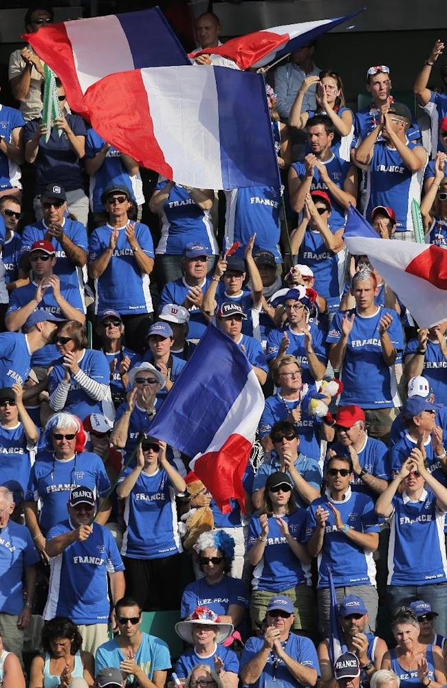 French players relishing