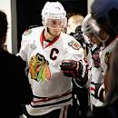 Chicago Blackhawks captain Jonathan Toews.