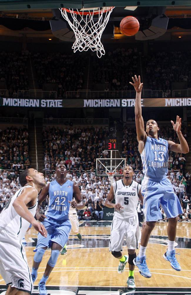 No. 1 Michigan State gets beat up and beat by UNC