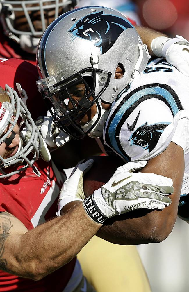 Panthers' 5th straight win, beat 49ers 10-9