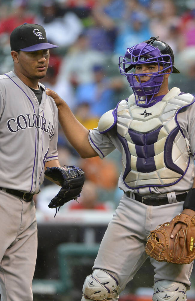Colorado Rockies v Chicago Cubs