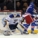 St Louis Blues v New York Rangers Getty Images