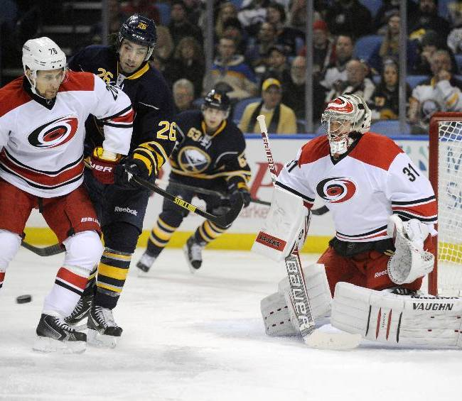 Hurricanes rally to beat Sabres 5-3