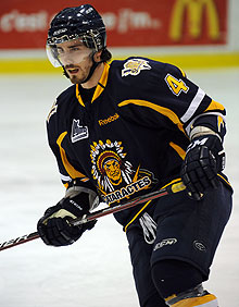 Morgan Ellis and the Cataractes haven't played in a month. (The Canadian Press)