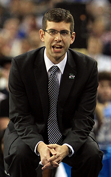 Brad Stevens and the Bulldogs will face stiffer competition in the Atlantic 10. (Getty Images)
