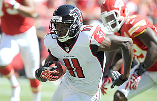Julio Jones had a strong 2012 debut vs. the Chiefs. (US Presswire)