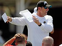 Jags coach Mike Mularkey is trying to build a new foundation. (AP)