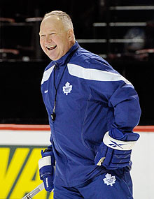 Toronto coach Randy Carlyle ran a couple of training camp-style practices, but it'll take a lot more than that to salvage the Leafs' season.