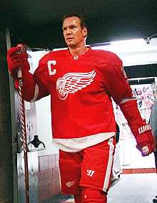 At age 41, Nicklas Lidstrom has a record-tying eighth Norris Trophy in his sights.