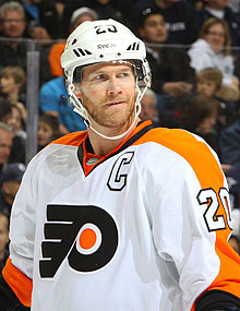 The Flyers said they're shutting down Chris Pronger for the rest of the regular season and playoffs, and the defenseman's career is in jeopardy.