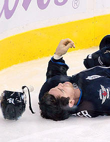 The NHLPA's neurology consultant said players who have sustained a concussion often don't recognize the symptoms.
