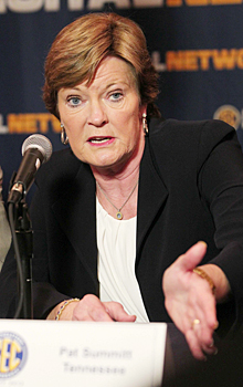 Pat Summitt has changed her routine, but not her intensity.