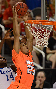 Wayne Blackshear could develop into a star for Louisville. (US Presswire)