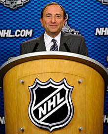 NHL commissioner Gary Bettman and the board of governors will meet to discuss realignment.