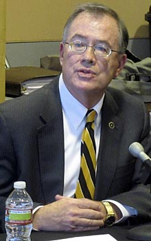 Missouri Chancellor Brady J. Deaton is excited about the Tigers' move to the SEC.