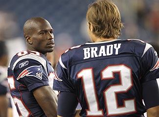 Ocho Cinco and Tom Brady