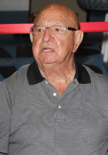 Angelo Dundee was in Muhammad Ali's corner for nearly all of his career.