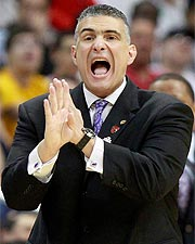 Frank Martin's overall record as a head coach is 117-54 and he is 6-4 in the NCAA tourney.
