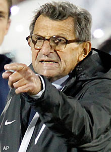 In his first public comments since being fired at Penn State two months ago, Joe Paterno said assistant Mike McQueary
