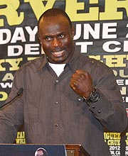Lateef Kayode took exception with Antonio Tarver's analysis of his skills. (Golden Boy)