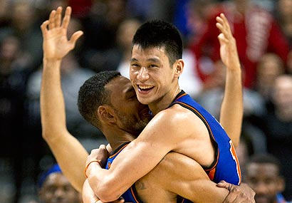 Jeremy Lin has led the Knicks to six straight wins.