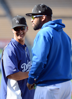Don Mattingly's Dodgers have been just fine without Matt Kemp in the lineup. (Getty Images)