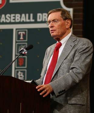 Bud Selig will start the first-round festivities at 7 p.m. ET. (Getty Images)