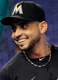 Omar Infante was hitting .287 with Miami. (Getty Images)