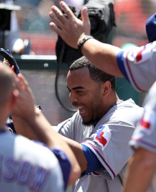 Nelson Cruz hit a 3-0 pitch nearly 500 feet on Sunday. (Getty Images)