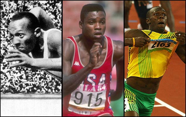 From Jesse Owens to Carl Lewis to Usain Bolt, re-live the best Summer Olympic moments. (Getty Images)