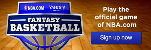 Sign up for Yahoo Fantasy Basketball in Partnership with NBA.com