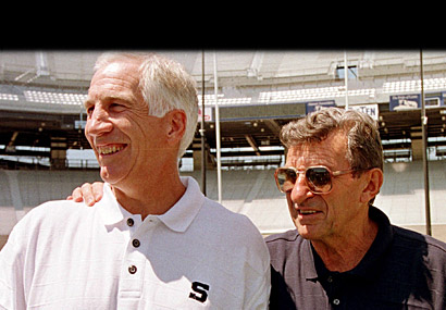 Jerry Sandusky, Joe Paterno