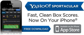 Yahoo Sportacular on iPhone ®