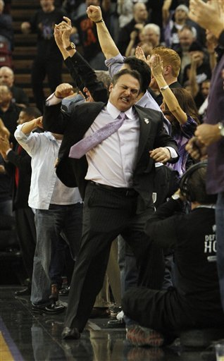 Sacramento Kings Co-owner Gavin Maloof Celebrates