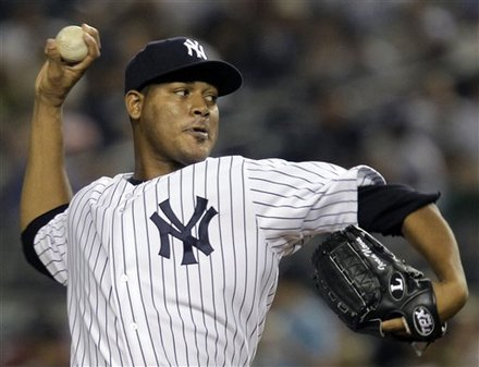New York Yankees Starting Pitcher Ivan Nova Winds