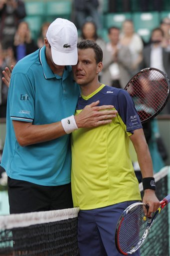 Paul-Henri Mathieu Of France, Right, Is