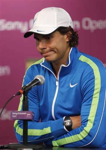 Rafael Nadal Of Spain, Speaks