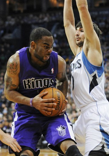 Marcus Thornton has all your malicious intent.
