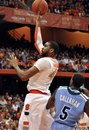 Syracuse's James Southerland shoots to score against Tulane during the second half of an NCAA college basketball game in Syracuse, N.Y., Thursday, Dec. 22, 2011. Syracuse won 80-61.