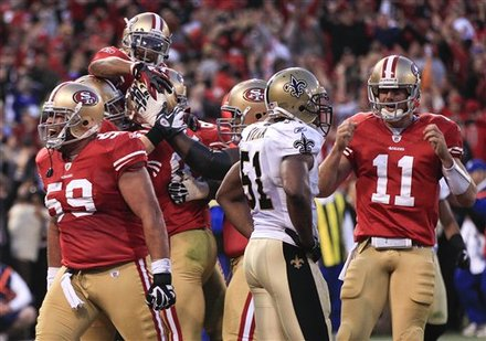 The San Francisco 49ers Celebrate